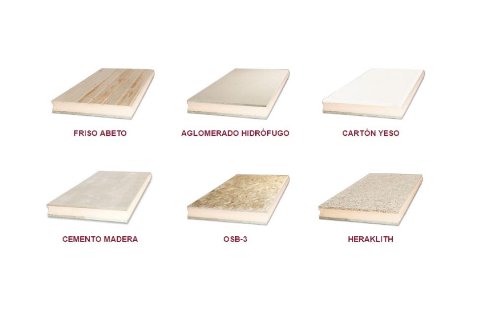 Panel sandwich para tejados panel de madera para tejados for Aislante para tejados