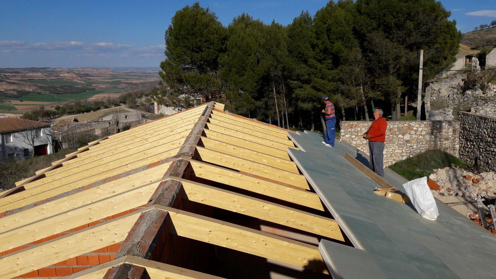 Estructuras de madera, cubiertas de madera, maderas estructurales ...