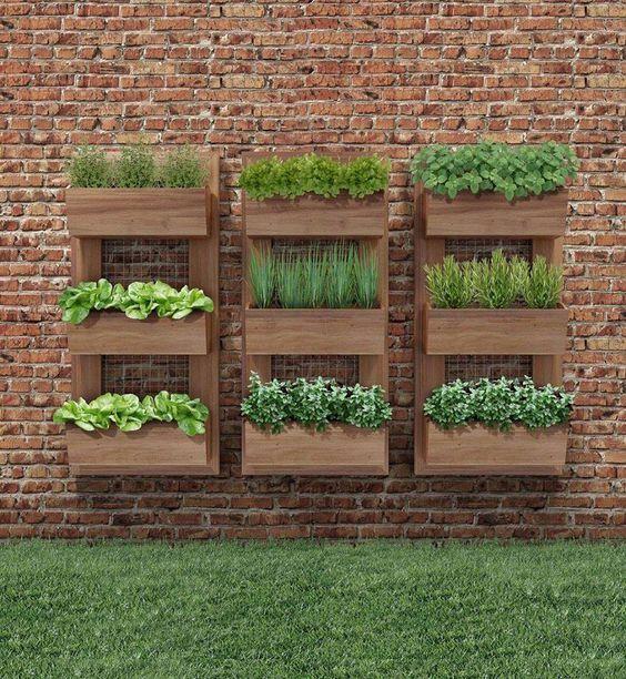 Ideas De Diseño De Jardines Residenciales: Ideas Para Hacer Tu Propio Jardín Vertical Con Estructura