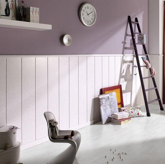 Vestir paredes con frisos de madera una nota de estilo en cualquier estancia del hogar - Paredes de friso ...