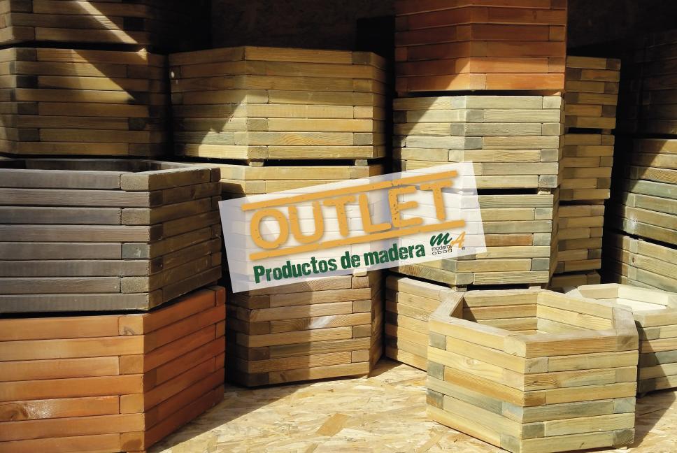 Stock liquidaci n de jardineras de madera para exterior maderas miguel abad e hijos s l Maderas tratadas para exterior