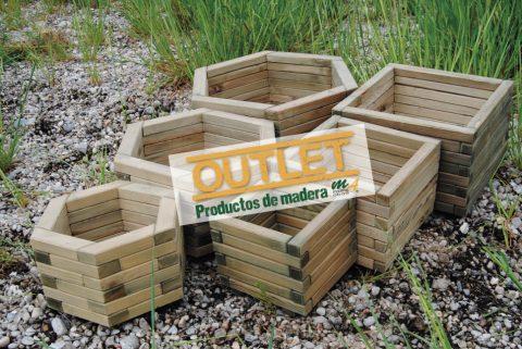 stock liquidacin de jardineras de madera para exterior maderas miguel abad e hijos sl