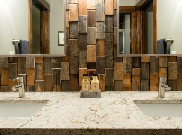 os recomendamos escoger tablones o tacos de madera ms o menos pulida en una o varias paredes e incluso solo en una zona para diferenciar un lugar - Decorar Paredes Con Madera